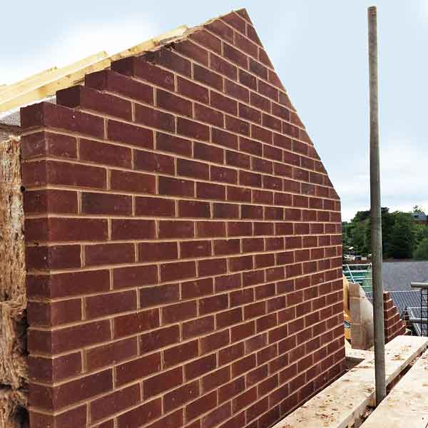 Gable end building work